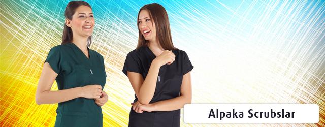 Kadın Alpaka Scrubs Formalar