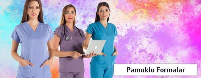 Kadın Pamuklu Cerrahi Formalar