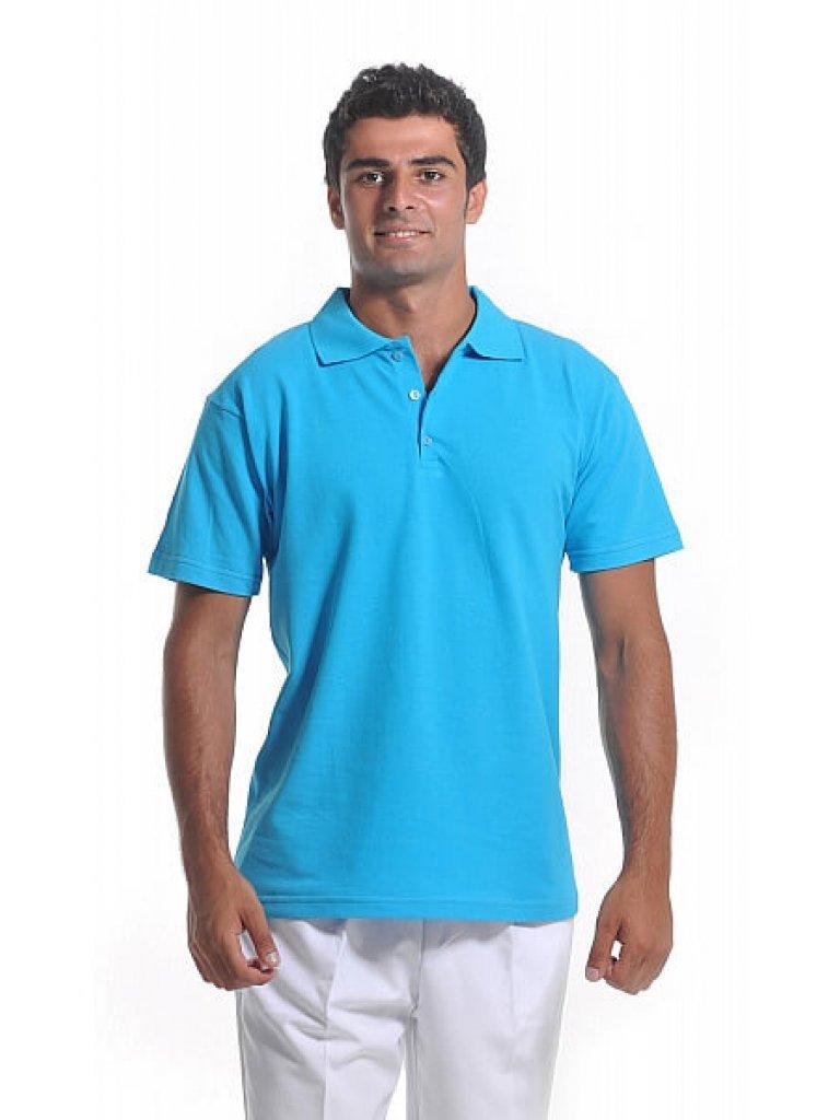 Erkek Polo Yaka Turkuaz Lacoste T-Shirt