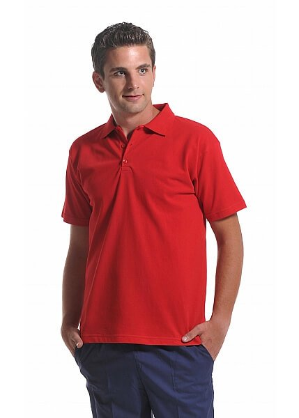 Kırmızı Erkek Polo Yaka Lacoste T-Shirt