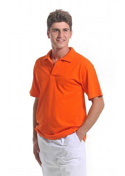 Turuncu Erkek Polo Yaka Lacoste T-Shirt