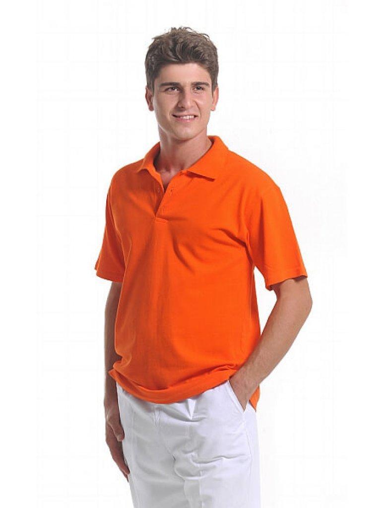 Erkek Polo Yaka Turuncu Lacoste T-Shirt