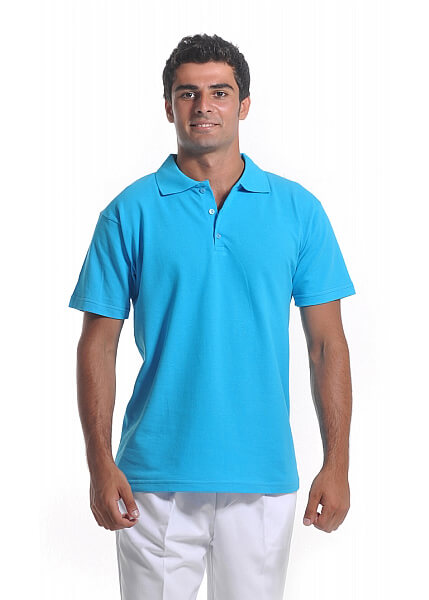 Turkuaz Erkek Polo Yaka Lacoste T-Shirt