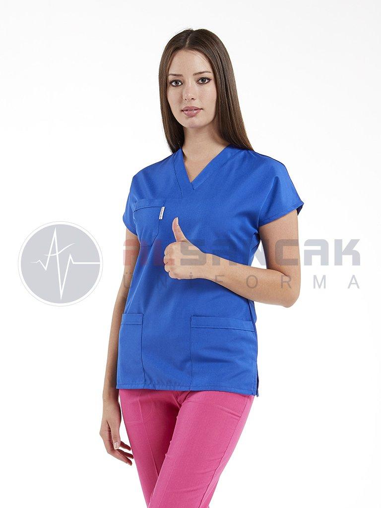 Özel Üretim Likralı Doktor ve Hemşire Forması