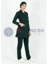 Tesettür Luxe Model Ördekbaşı Hemşire ve Doktor Forması Takımı