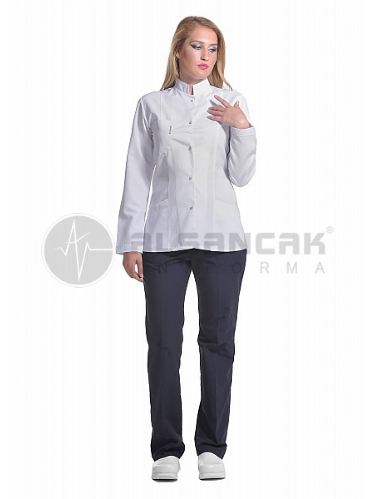 Fit Kesim Hemşire Ceketi