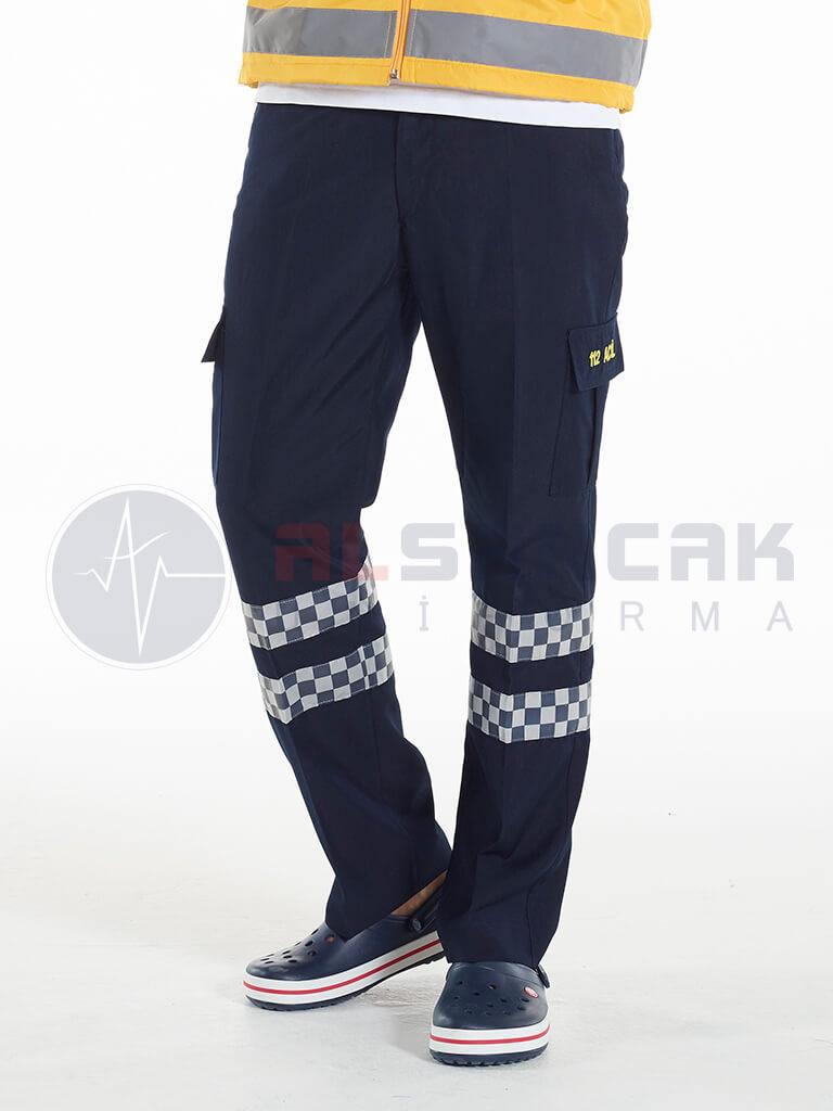 Erkek 112 Acil ATT Lacivert Pantolon
