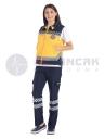 Kadın 112 Acil ATT Lacivert Pantolon (112 nakışlı)