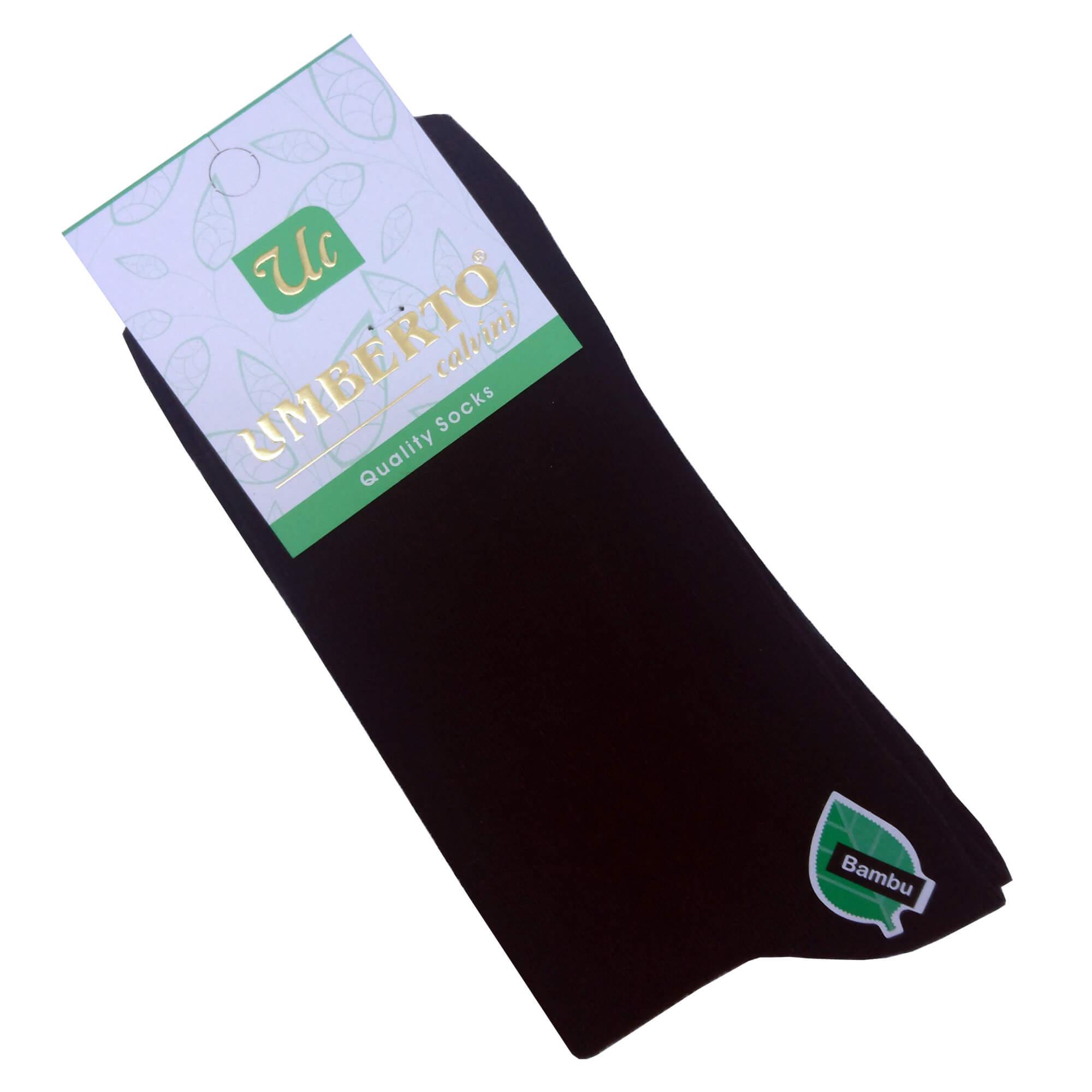 Kadın Siyah Bambu Çorap