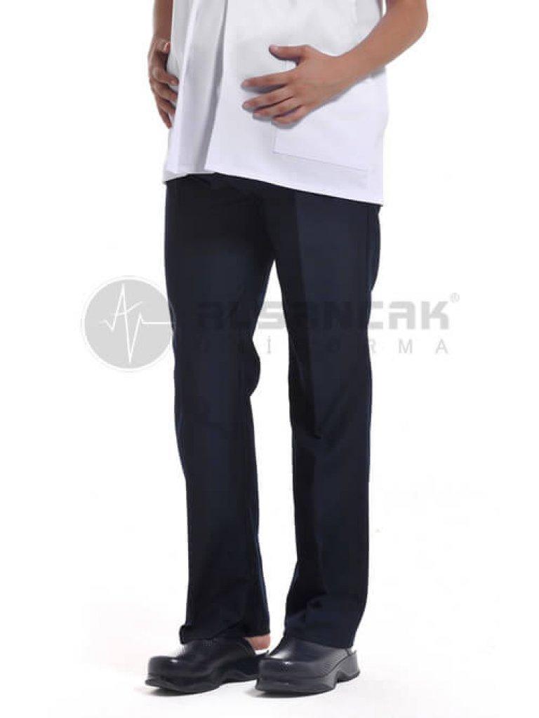 Lacivert Hamile Hemşire ve Doktor Forma Pantolonu