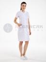 Luxe Model Beyaz Hemşire ve Doktor Elbisesi