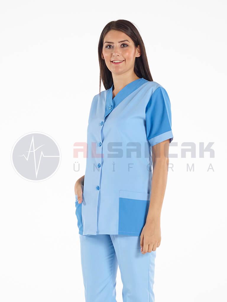 Kadın Temizlik Personeli Forması Takımı